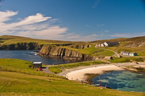 The new Fair Isle Bird Observatory will officially be opened on Saturday - Photo: Dave Wheeler