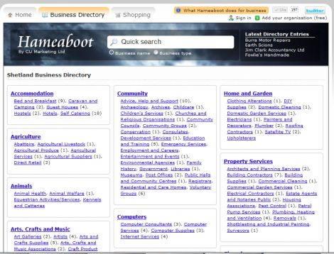 Hameaboot Business Directory
