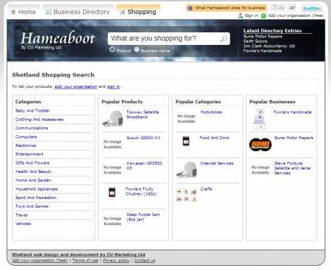 Hameaboot Shopping Portal