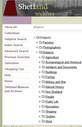 Shetland Museum Photo Library