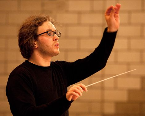 The Royal Scottish National Orchestra's guest conductor David Danzmayr - Photo: Billy Fox
