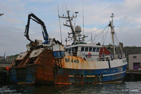 The Onward in Lerwick harbour last year - Photo: Courtesy of Scott Goudie