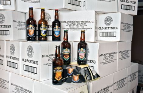 Valhalla Brewery prodes six different ales - Photo: Malcolm Younger for HIE
