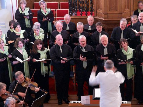 Shetland Choral Society's May Concert: 'a special, soothing, and uplifting evening' - Photo: Chris Brown