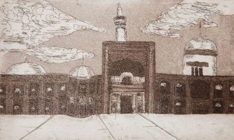 Shrine of Iman Reza Mashad, Iran.