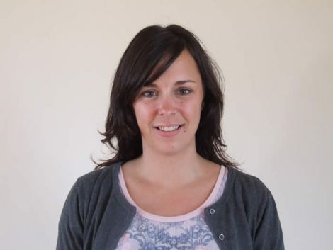 Samantha Wishart, the new head for Cuninngsburgh