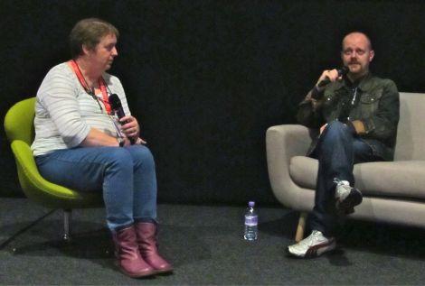 Shetland Arts' Kathy Hubbard interviews Alexandre O Phillipe at Screenplay 2012