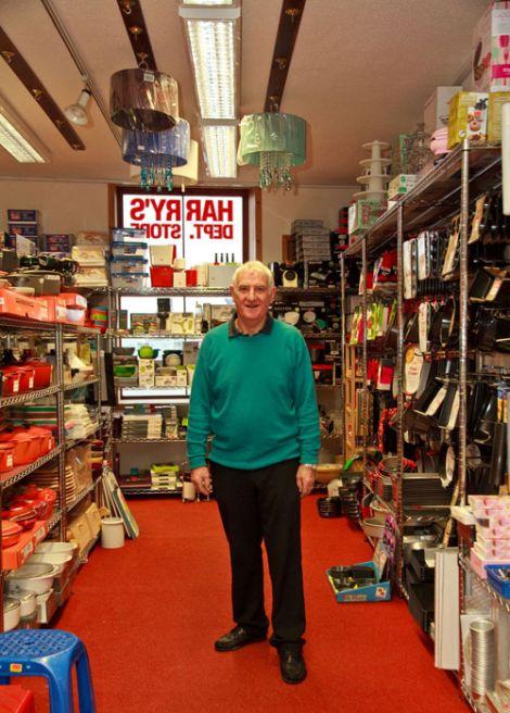 Harry Jamieson, 50 years in business