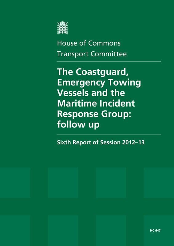 The transport select committee's follow up report.