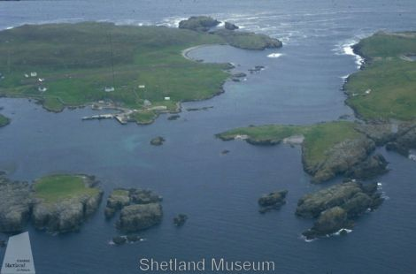 Kennemerland wreck site. Photo Shetland Museum and Archives