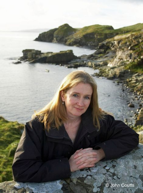 Crime author Sharon Bolton at The Knab - Photo: John Coutts
