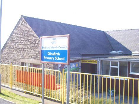 Olnafirth Primary School.