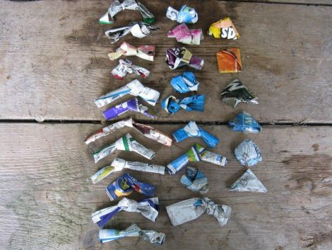 Who folds crisp packets before throwing them away? - Photo: SAT