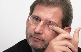 EU regional policy commissioner Johannes Hahn