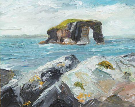 Dore Holm/Shetland 2012.