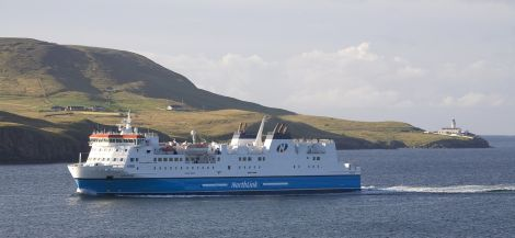Hjaltland and its sister ship Hrossey are sailing into more profitable waters, according to Serco NorthLink