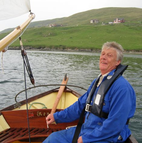 The late Alistair Goodlad: Nothing gave him a greater sense of satisfaction than seeing fellow Shetlanders doing well – at school, university and in business - Photo: Courtesy of the Goodlad family.