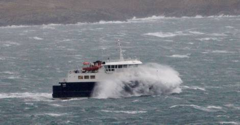 Whalsay ferry Linga could be disrupted this weekend