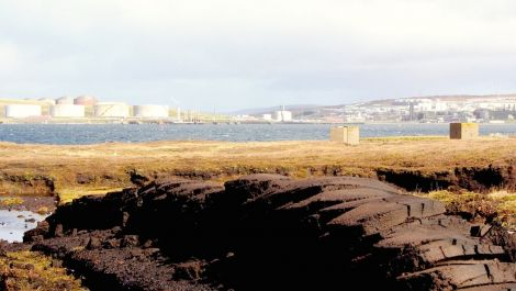 From peat to prosperity. The long term future of Sullom Voe oil terminal looks healthier as BP announces yet more investment. Photo Shetnews