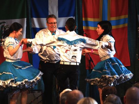 Manitoba dance group The Asham Stompers - Photo: Chris Brown
