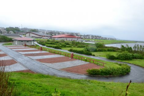 The Clickimin campsite is to be demolished to make way for the new Anderson High School. Photo: Shetnews