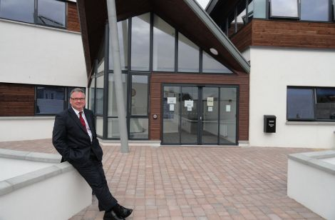 Alistair Buchan pictured outside the SIC's North Ness HQ during his stint as chief executive.