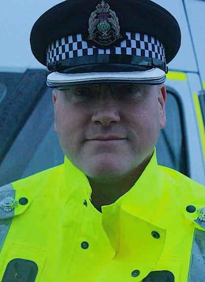 Chief inspector Eddie Graham.