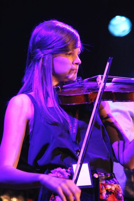 """Young Fiddler of the Year Sophie Moar sees it as an """"exciting challenge""""."""