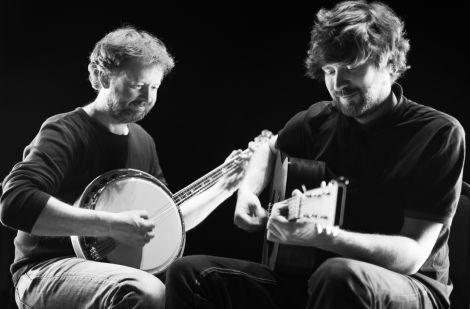 Eamonn Coyne and Kris Drever. Photo: Floortje Robertson