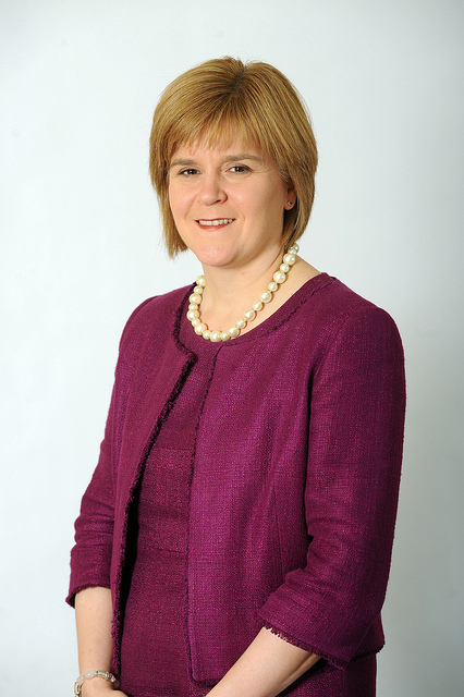 Scotland's deputy first minister Nicola Sturgeon takes the campaign for a Yes vote to Shetland on Wednesday.