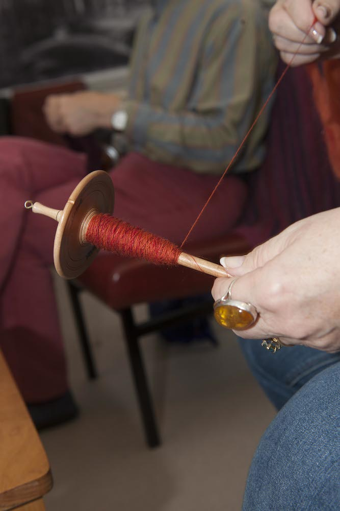 2014 Shetland Wool Week has something for everyone with an interest in wool - Photo: Frank Bradford