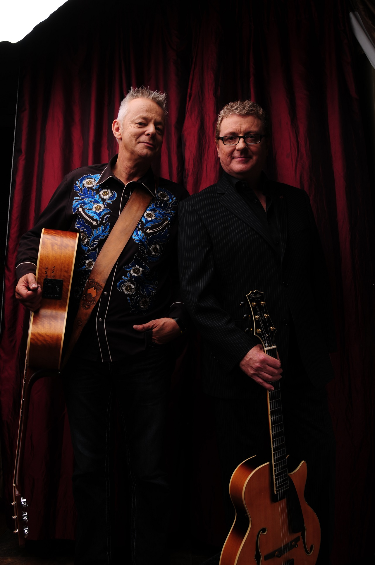 Tommy Emmanuel and Martin Taylor.
