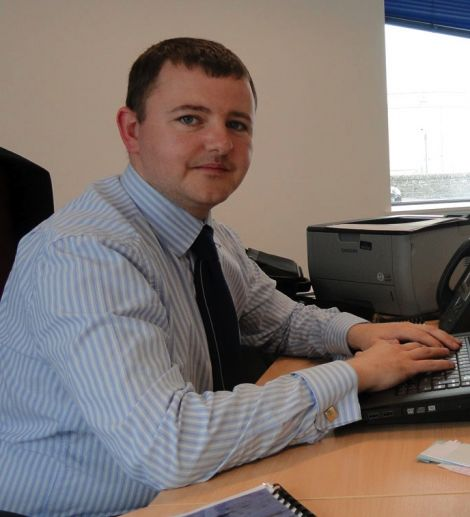 Accountant James Gray is credited with transforming the finance department.