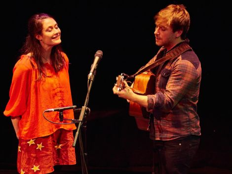 An engaging and entertaining live act: Rachel Sermanni and Colin Macleod at Tuesday night's concert - Photo: Chris Brown