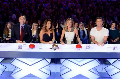 The judging panel on the last series of ITV's Britain's Got Talent.