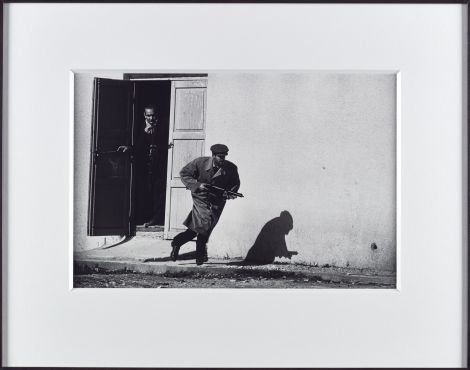 The Cyprus Civil War, Limassol, Cyprus 1964, printed 2013, ARTIST ROOMS, Presented by the artist jointly to National Galleries of Scotland and Tate and acquired with assistance of the ARTIST ROOMS Endowment, supported by the Henry Moore Foundation and Tate Members 2013 - Image © Don McCullin