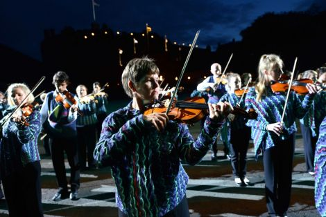 The Hjaltibonhoga fiddlers who took part in the Edinburgh Military Tattoo were a highlight of the year.