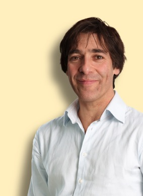 Comedian and writer Mark Steel.