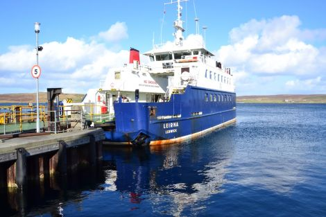 "Opposition parties have accused the SNP of ""discrimination"" against the Northern Isles on ferry fares. Photo: Shetnews/Neil Riddell"