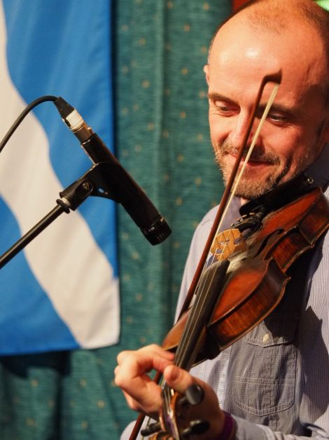 Duncan Chisholm, one of Scotland's most accomplished fiddlers and composers.