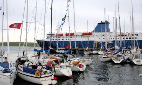 Most yachts participating in the annual Shetland Race arrived overnight from Thursday to Friday - Photo: Chris Cope/ShetNews