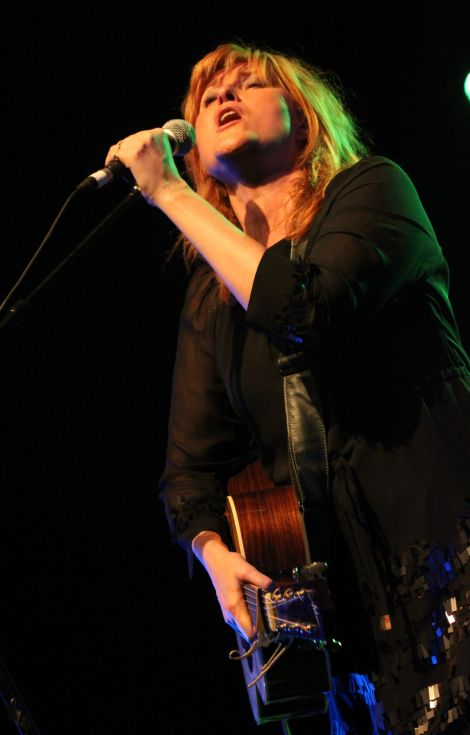 Eddi Reader performing at Mareel last year. Photo: Davie Gardner