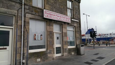 The Harbour Fish and Chip Shop at Harrison Square in Lerwick. Photo: Shetnews/Chris Cope