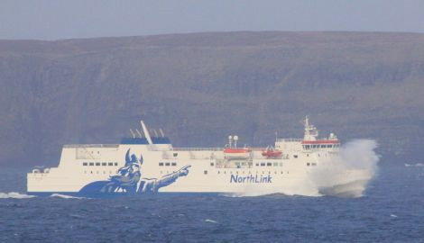 Rolling, rolling, rolling. Passengers feared the NorthLink ferry was going to capsize on Wednesday night before the captain regained control of the vessel with 500 passengers on board.