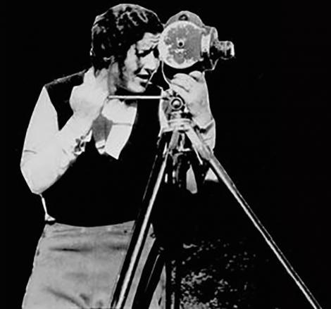 Shetland film maker Jenny Gilbertson.