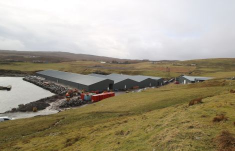 Grieg Seafood Hjaltland this summer opened a high-tech new £15 million hatchery at Girlsta. Photo: Shetnews