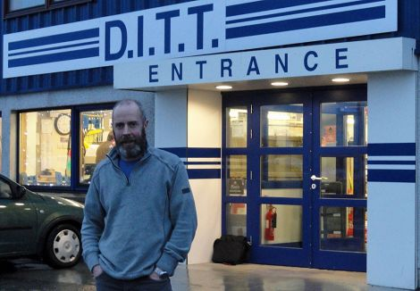 Peter Tait of DITT said local firms were disappointed that UHI was passing 'the whole package of responsibility' to Chester-based firm Cityheart Ltd.