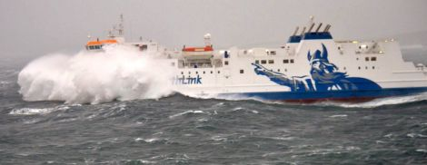 Gales continue to disrupt ferry services.