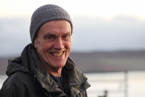 Trustee Sandy Peterson: '2015 has been a tough year for Disability Shetland' - Photo: Hans J Marter/ShetNews