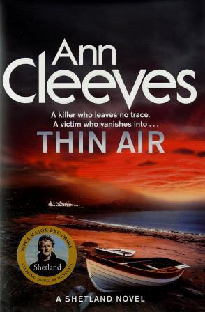 Ann Cleeves' latest book is the most popular item to be borrowed from the shelves of Shetland library.